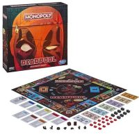 Hasbro Marvel Deadpool Collector's Edition Monopoly
