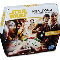 Hasbro Star Wars Han Solo Sabacc Card Game