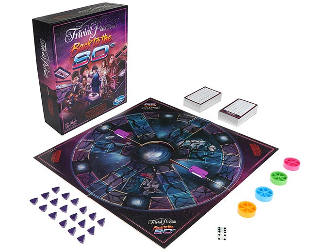 Hasbro Trivial Pursuit Stranger Things Back to the 80s Board Game