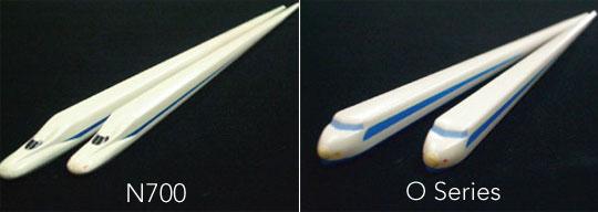 Hashi Tetsu Shinkansen Bullet Train Chopsticks