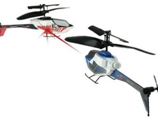 Battling Palmsize Havoc RC Helicopters