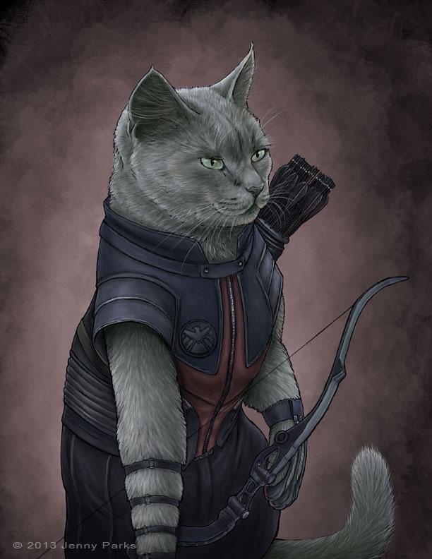 Hawkeye Kitty