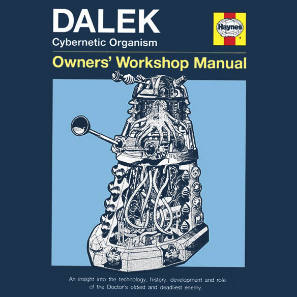 Haynes Guide to Dalek Shirt