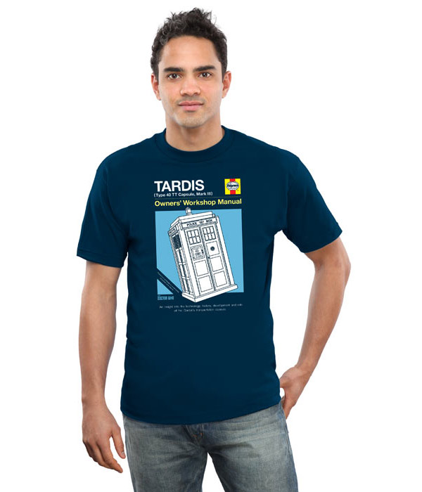 Haynes Guide to the TARDIS Shirt