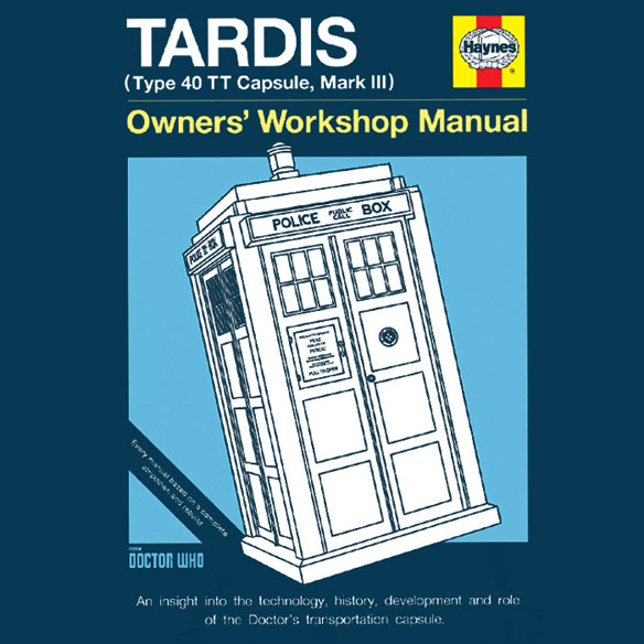 Haynes Guide to the TARDIS TShirt