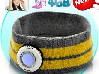 Headband with MP3 Player