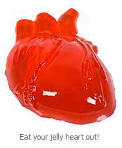 Heart Shaped Jelly Mold
