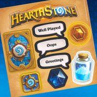 Hearthstone Magnet Set