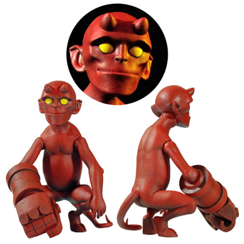 Hellboy Baby Hellboy 1 6 Scale Collectible Figure