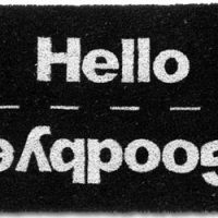 Hello & Goodbye Doormat