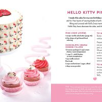 Hello Kitty Baking Book Cake