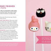 Hello Kitty Baking Book Cake Pops