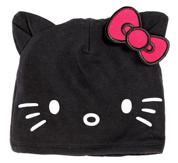 37df0d19688 Hello Kitty Black Beanie