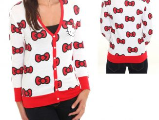 Hello Kitty Bow Cardigan