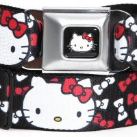 Hello Kitty Bow Seat Belt
