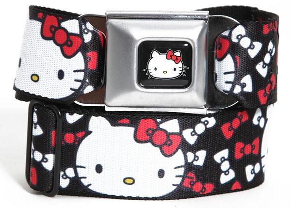 Hello Kitty Bow Seat Belt