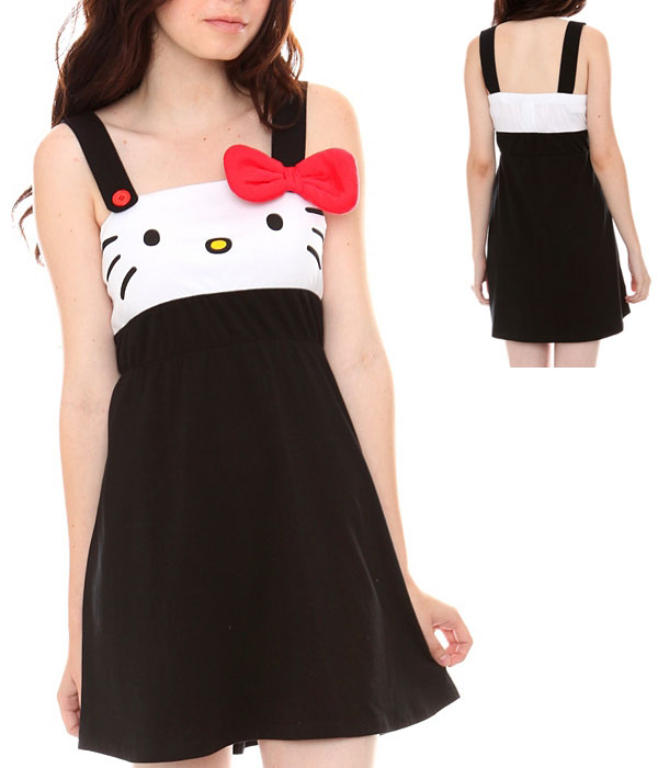 Hello Kitty Face Dress