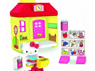 Hello Kitty Megabloks School House Set