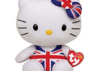 Hello Kitty Plush Union Jack Swimsuit