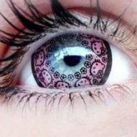 Hello Kitty Princess Contact Lenses