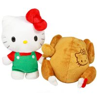 Hello Kitty Reversible 8 inch Plush Turkey