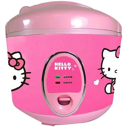 Hello Kitty Kitchen Cafe Manual: Hello Kitty Rice Cooker
