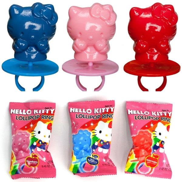 Hello Kitty Ring Pop