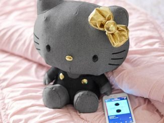 Hello Kitty Rocking Plush Bluetooth Speaker