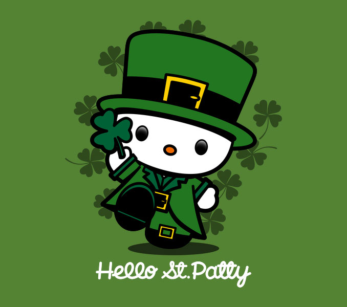 Hello Kitty Saint Patty T-Shirt