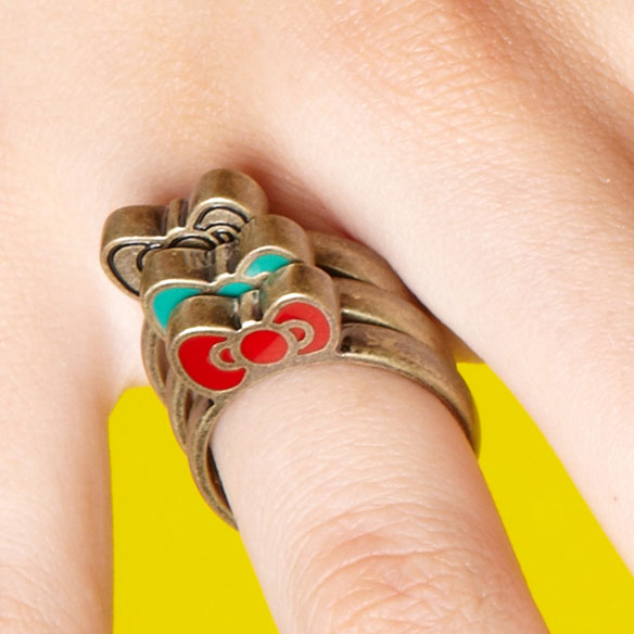 Hello Kitty Stackable Rings