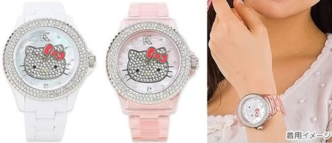 Hello Kitty Swarovski Watch