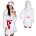 Hello-Kitty-White-Robe