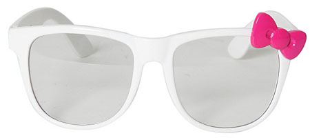 Hello Kitty White Sunglasses