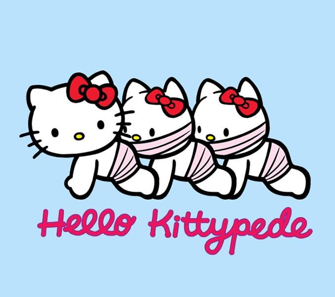 Hello Kittypede T-Shirt