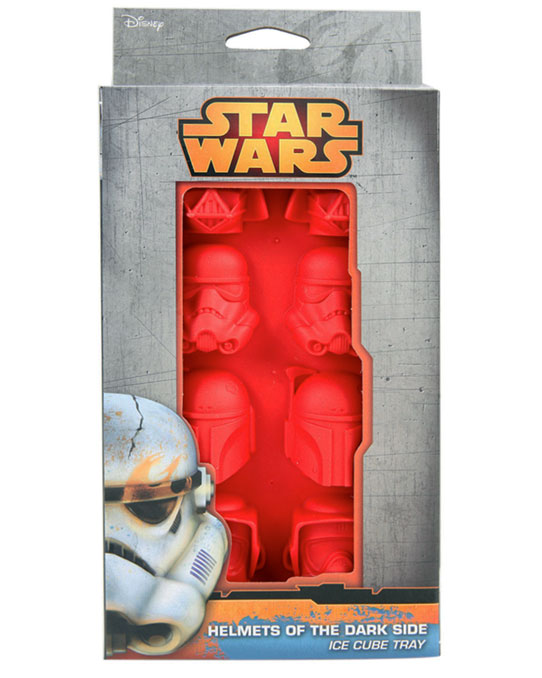 iCup Star Wars Helmets of the Dark Side Ice Cube Tray