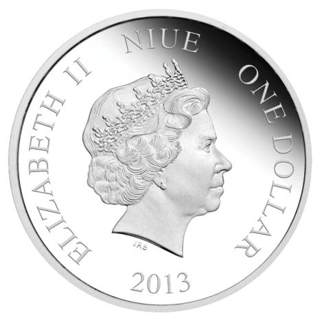 Her Majesty Queen Elizabeth II on Doctor Who Collectible Coin