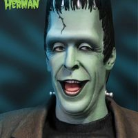 Herman Munster Maquette Detail