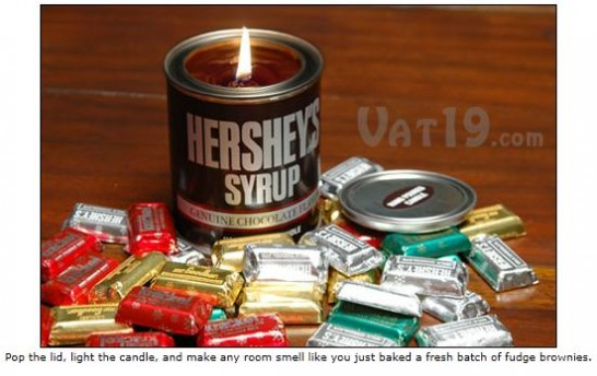 Hershey's Chocolate Syrup Scented Candle