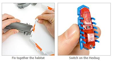 Hexbug Nano Habitat  Microbots Set