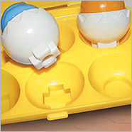 Hide and Squeak Eggs Kid Game