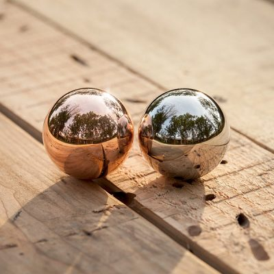 Highly Polished Elemental Spheres