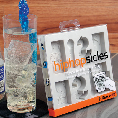 Hip Hopsicles Boombox Turntable Ice Tray