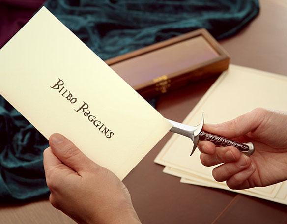 Hobbit Letter Opener