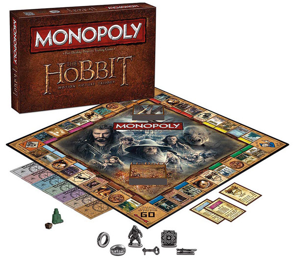 Hobbit Trilogy Monopoly Game