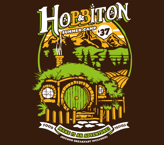 Hobbiton Shire Summer Camp T-Shirt