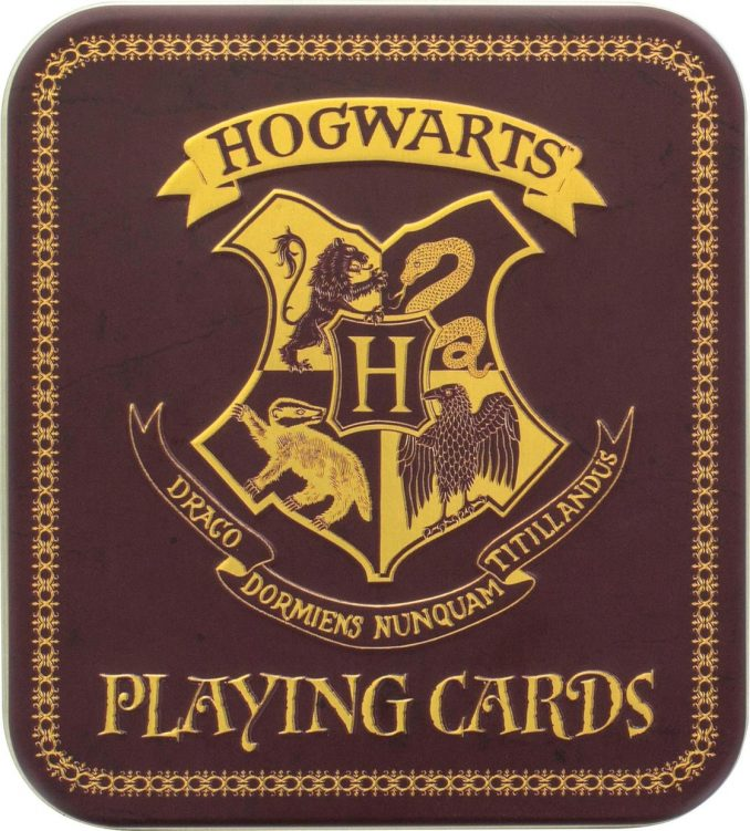 Hogwarts Harry Potter Playing Cards