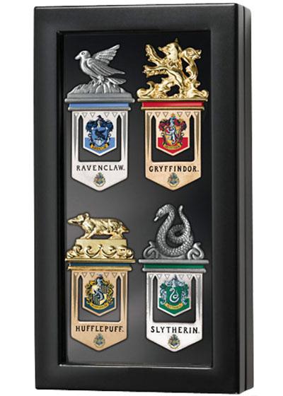 Hogwarts Ravenclaw Gryffindor Hufflepuff Slytherin Bookmarks
