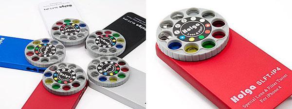 Holga iPhone Lens Filter Kit