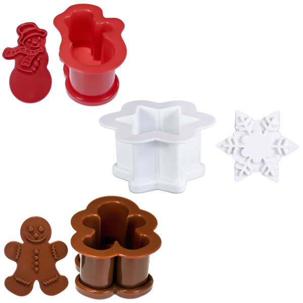 Holiday Ice Cream Sandwich Molds