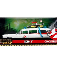 Hollywood Rides Ghostbusters ECTO-1 Scale Die-Cast Vehicle